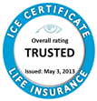 TermCanada, Ontario, Québec, British Columbia, Alberta, Nova Scotia, Saskatchewan, Manitoba, New Brunswick, Prince Edward Island, Newfoundland and Labrador: Life Insurance services are rated by InsurEye based on consumer reviews.
